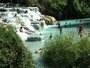 Saturnia温泉.4